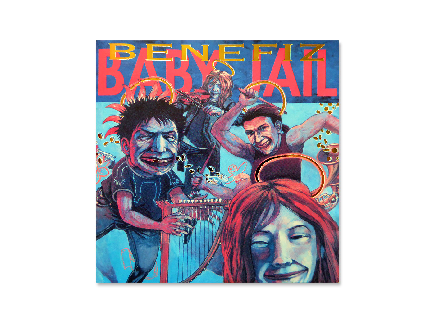 CD-Cover, Baby Jail, Band
